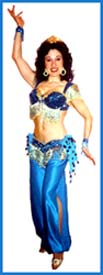 Delilah is a professional belly dancer who can do belly dancing singing telegrams, bellygrams and belly gram entertainment.  A short belly dance show is included with the singing telegram, where the birthday guest becomes a sultan.